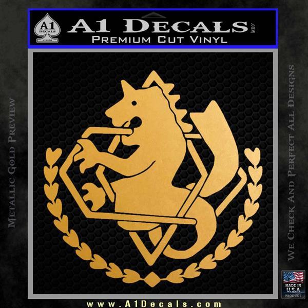Full Metal Alchemist State Alchemist Decal Sticker A1 Decals