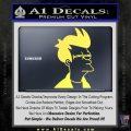 Futurama Fry Decal Sticker DP Yelllow Vinyl 120x120
