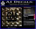 GM General Motors Decal Sticker SQ 3dc 120x97