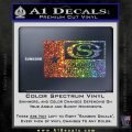 George Strait Decal Sticker Texas Flag Sparkle Glitter Vinyl 120x120