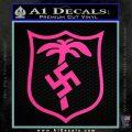 German WW2 Afrika Korps Decal Sticker Hot Pink Vinyl 120x120