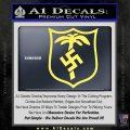 German WW2 Afrika Korps Decal Sticker Yelllow Vinyl 120x120