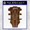 Gibson Decal Sticker Guitar Head Brown Vinyl 120x120
