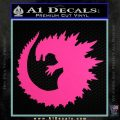 Godzilla CR Decal Sticker Hot Pink Vinyl 120x120