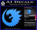 Godzilla CR Decal Sticker Light Blue Vinyl 120x97