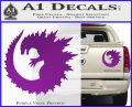 Godzilla CR Decal Sticker Purple Vinyl 120x97