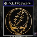 Grateful Dead Rock Band DO Decal Sticker Metallic Gold Vinyl Vinyl 120x120