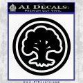 Green Mana Symbol Decal Sticker MTG Magic Black Logo Emblem 120x120