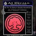 Green Mana Symbol Decal Sticker MTG Magic Pink Vinyl Emblem 120x120