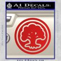 Green Mana Symbol Decal Sticker MTG Magic Red Vinyl 120x120