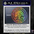 Green Mana Symbol Decal Sticker MTG Magic Sparkle Glitter Vinyl 120x120