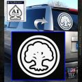 Green Mana Symbol Decal Sticker MTG Magic White Emblem 120x120