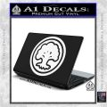 Green Mana Symbol Decal Sticker MTG Magic White Vinyl Laptop 120x120