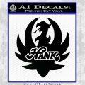 HANK WILLIAMS LOGO VINYL DECAL STICKER Black Logo Emblem 120x120