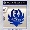 HANK WILLIAMS LOGO VINYL DECAL STICKER Blue Vinyl 120x120