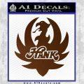 HANK WILLIAMS LOGO VINYL DECAL STICKER Brown Vinyl 120x120