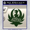 HANK WILLIAMS LOGO VINYL DECAL STICKER Dark Green Vinyl 120x120