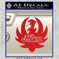 HANK WILLIAMS LOGO VINYL DECAL STICKER Red Vinyl 120x120