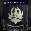 HANK WILLIAMS LOGO VINYL DECAL STICKER Silver Vinyl 120x120