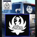 HANK WILLIAMS LOGO VINYL DECAL STICKER White Emblem 120x120