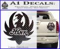 HANK WILLIAMS LOGO VINYL Decal Sticker Carbon Fiber Black 120x97