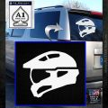 Halo Master Chief Spartan Helmet Decal Sticker White Emblem 120x120