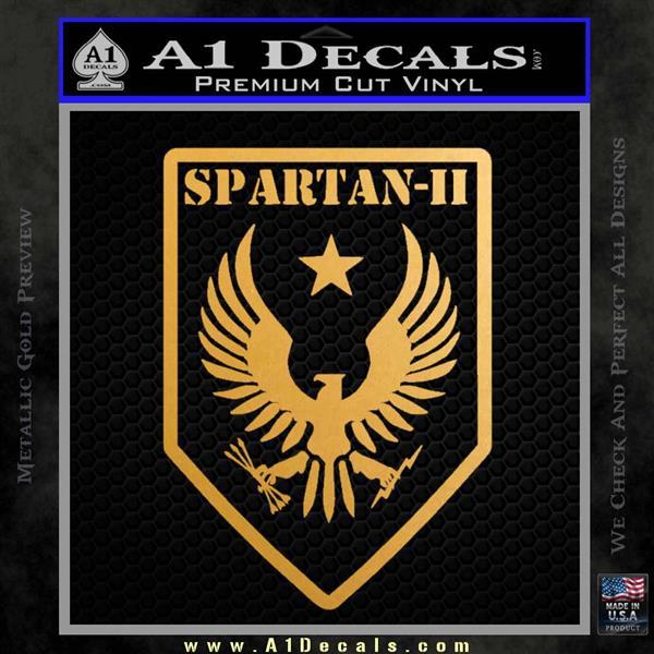 Halo Spartan Insignia Decal Sticker A1 Decals