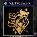 Harley Quinn DIA Decal Sticker Metallic Gold Vinyl Vinyl 120x120