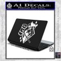 Harley Quinn DIA Decal Sticker White Vinyl Laptop 120x120