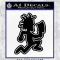 Hatchetman ICP Decal Sticker DO Black Logo Emblem 120x120