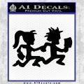 ICP Insane Clown Posse Couple Decal Sticker Juggalo RDZ Decal Sticker Black Logo Emblem 120x120