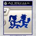ICP Insane Clown Posse Couple Decal Sticker Juggalo RDZ Decal Sticker Blue Vinyl 120x120