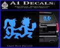 ICP Insane Clown Posse Couple Decal Sticker Juggalo RDZ Decal Sticker Light Blue Vinyl 120x97