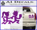 ICP Insane Clown Posse Couple Decal Sticker Juggalo RDZ Decal Sticker Purple Vinyl 120x97