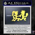 ICP Insane Clown Posse Couple Decal Sticker Juggalo RDZ Decal Sticker Yelllow Vinyl 120x120