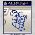 Ice Age Scrat Full Decal Sticker Blue Vinyl 120x120