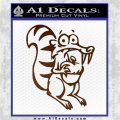 Ice Age Scrat Full Decal Sticker Brown Vinyl 120x120