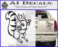 Ice Age Scrat Full Decal Sticker Carbon Fiber Black 120x97