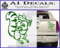 Ice Age Scrat Full Decal Sticker Green Vinyl 120x97