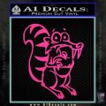 Ice Age Scrat Full Decal Sticker Hot Pink Vinyl 120x120