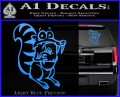 Ice Age Scrat Full Decal Sticker Light Blue Vinyl 120x97