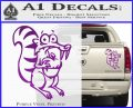 Ice Age Scrat Full Decal Sticker Purple Vinyl 120x97