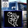 Ice Age Scrat Full Decal Sticker White Emblem 120x120