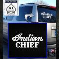 Indian Motorcycle Decal Sticker Chief ST White Emblem 120x120