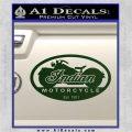 Indian Motorcycle OV Decal Sticker Dark Green Vinyl 120x120