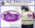 Indian Motorcycle OV Decal Sticker Purple Vinyl 120x97