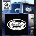 Indian Motorcycle OV Decal Sticker White Emblem 120x120
