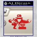 Indiana Jones Grab Decal Sticker Red Vinyl 120x120