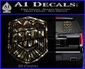 Judge Dredd Decal Sticker Badge D2 3dc 120x97