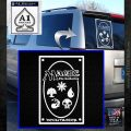 Magic Card Back Decal Sticker MTG Mana Symbols White Emblem 120x120